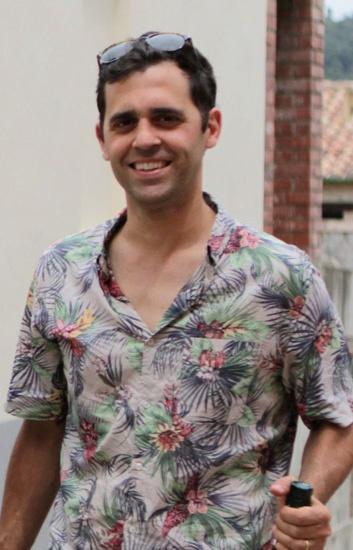 Stefano, uno de los socios de Garage Bar y co-creador de la Feria Vella Terra